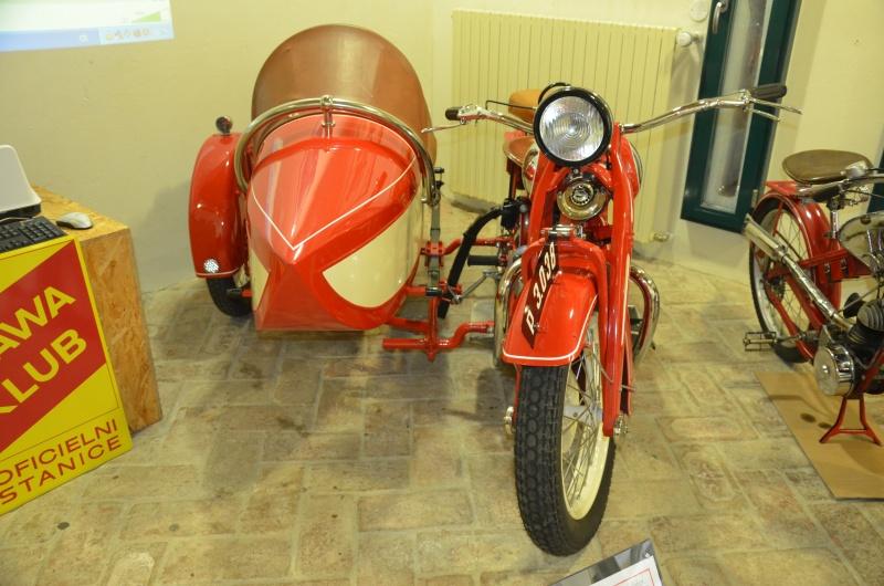 Výstava přibližuje všechny stěžejní typy Jawy, takže nemůže chybět ani první model Jawa 500 OHV známý jako Rumpál