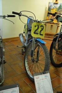 Jawa 895 z roku 1976 je nejstarším plohcodrážním exponátem