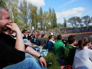 Velký závod poutal pozornost diváků