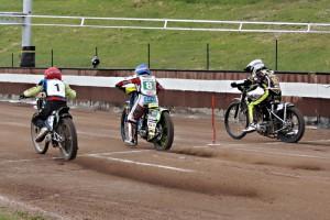 Zleva Jan Kvěch, Kyle Bickley a Finn Loheider
