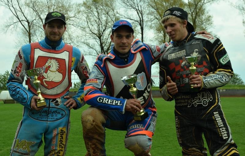 Nejlepší trio z přboru - Tomáš Suchánek, Filip Šitera a Roman Čejka