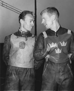 Ove Fundin - na snímku z nástupu při evropském finále MS jednotlivců ve Slaném v červnu 1965 - byl fenomenální závodník, ale také pořádně tvrdohlavý paličák