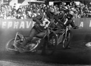 Rudolf Havelka nejenže vyhrál malé finále, ale ukázal výfuk i Barry Briggsovi