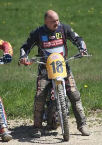 Jan Boháč se rozloučil se závody po první jízdě
