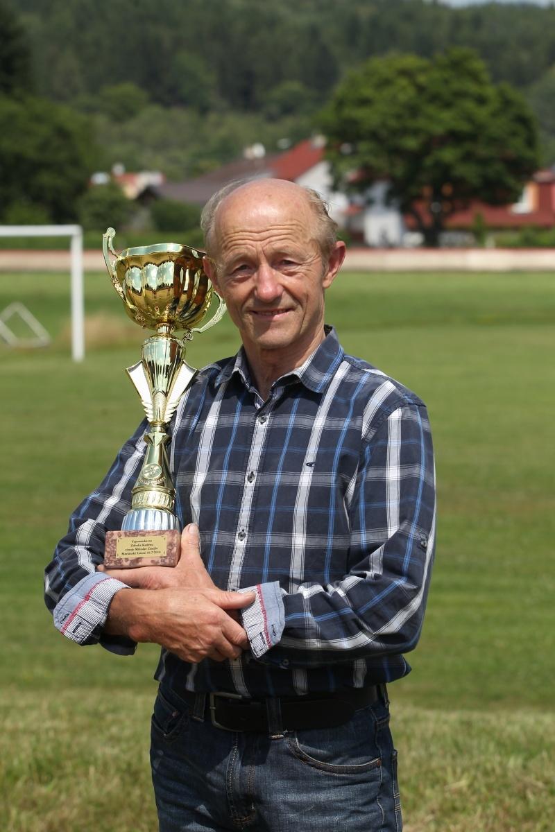 Alois Wiesböck si odvezl z Mariánských Lázní pohár i po sedmatřiceti letech, co se tady stal mistrem světa