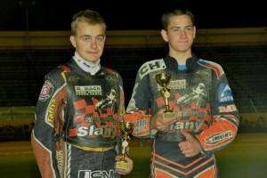 Filip Hájek a Adam Fencl s bronzovými medailemi