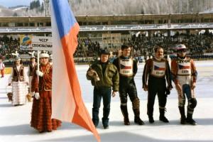 Coby manažer Antonína Klatovského, Stanislava Dyka a Bronislava France ve finále v Alma Atě roku 1989