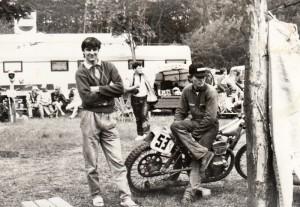 Jan Hruška v devadesátém v depu v Teterowě