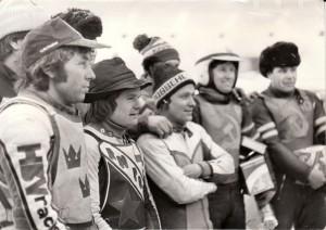 V Moskvě roku 1981 s Per Olofem Sereniusem, JIřím Jiroutem a Sergejem Tarabankem