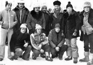 Soustředění československým ledařů, Novosibirsk 1980