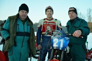 Hutla Team: zleva Václav, Lukáš a Radek