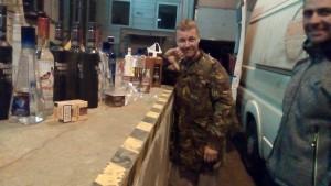 Neplánovaná stopka na lotyšské hranici