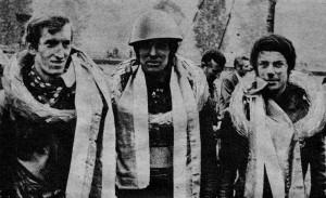 V roku 1972 boli po pretekoch odmenení zľava: Jozef Tóth, Dieter Tetzlaff a namiesto Clemensa Bevera Wilfried Schneider