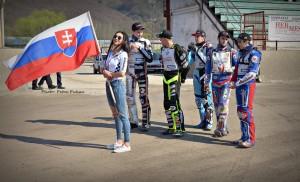 Slováci jeli nejen o titul, ale i o reprezentační místa: zleva Ján Mihálík, Martin Vaculík, Jakub Valkovič, Patrik Búri a Michal Tomka