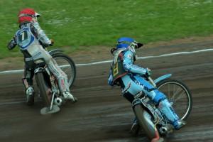 Ján Mihálik (červená) startoval s Jakubem Valkovičem (modrá)