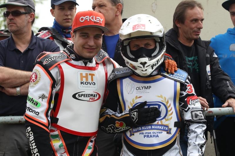 Zdeněk Holub a Josef Franc se včera sešli v Liberci