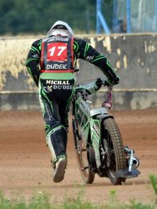 Michal Dudek běží pro poslední bod