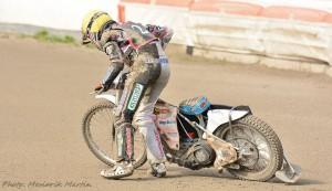 Ján Mihálik naštěstí vyvázl ze svého pádu bez zranění