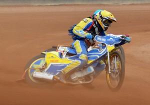 Piotr Dziatkowiak musel ze závodu záhy odstoupit