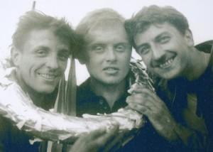 Josef Kalous, Petr Podhola a Jaroslav Zobal