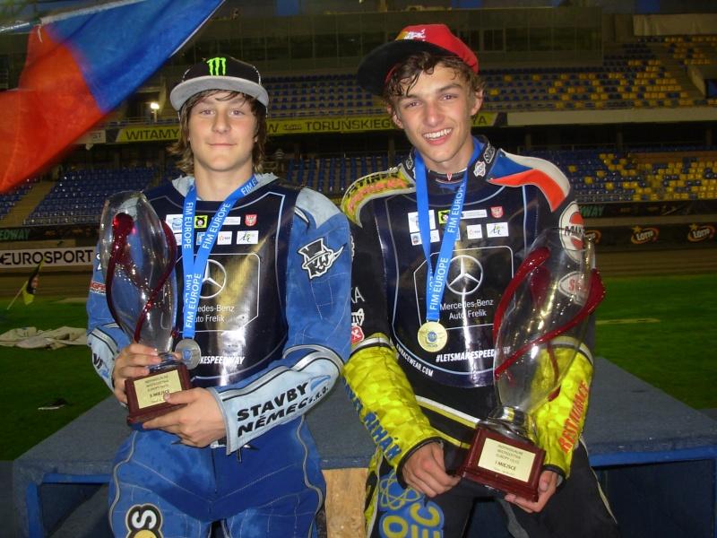 Daniel Klíma a Filip Šifalda na stupních vítězů