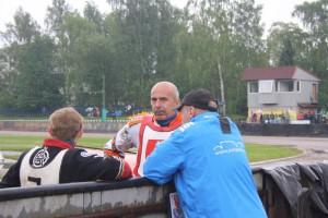Jaroslav Petrák a Martin Gavenda dnes neměli důvod k úsměvům