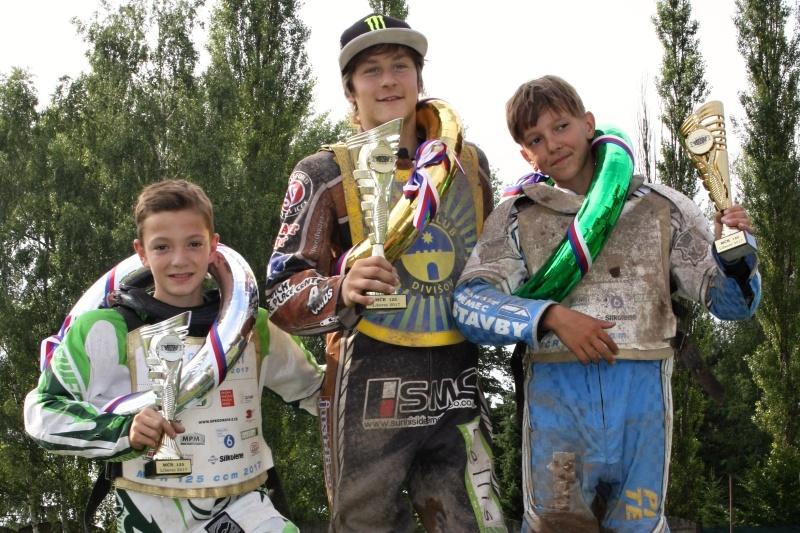 Nejlepší trio z misrovských stopětadvacítek: Pavel Kuchař, Daniel Klíma a Jaroslav Vaníček