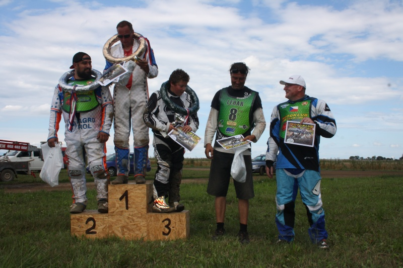 Speedway: zleva Jan Vaňátka, Dan Macl, Jan Hlačina, Martin Lehký a Michal Krejří