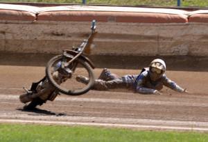 Patrik Búri v páté jízdě upadl