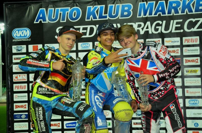 semifinále 2: Ben Ernst, Philip Hellström-Bängs a Leon Flint