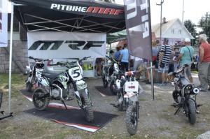 Veřejnosti se představily stroje MRF z Vaculík Pitbike Racing