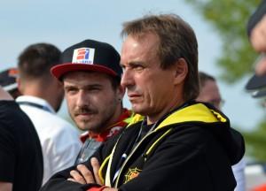 Václav Milík se může spolehnout na spolehlivé rady svého otce