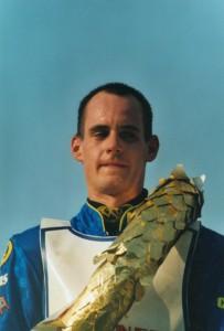 Lukáš Dryml se ve Slaném před patnácti lety stal juniorským mistrem světa
