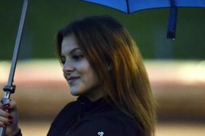 Deštník byl nezbytnou proprietou dnešní extraligy
