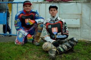 Jakub Valkovič (vlevo) a Ján Mihálik přišli těsně o bronzové medaile