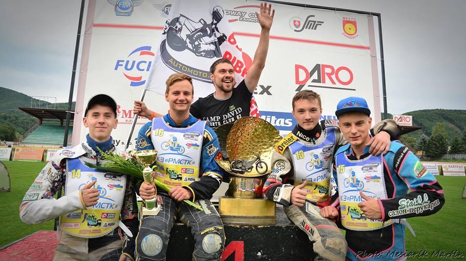Ukrajincům včera pomáhal k triumfu rovněž Ján Mihálik