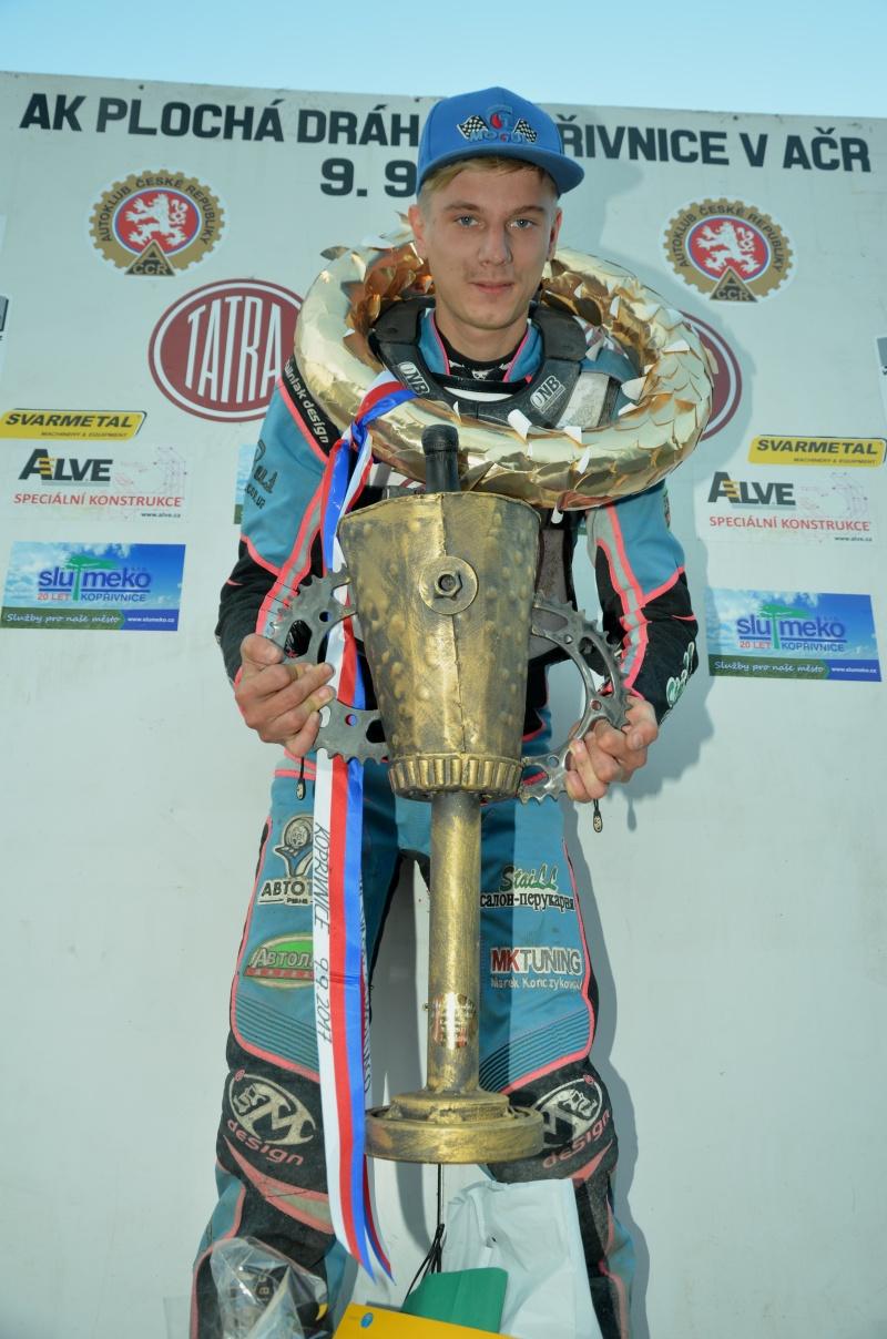 Stanislav Mělničuk se stal nečekaným vítězem
