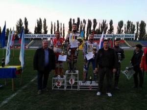 Patrik Búri stojí v Braile na stupních vítězů