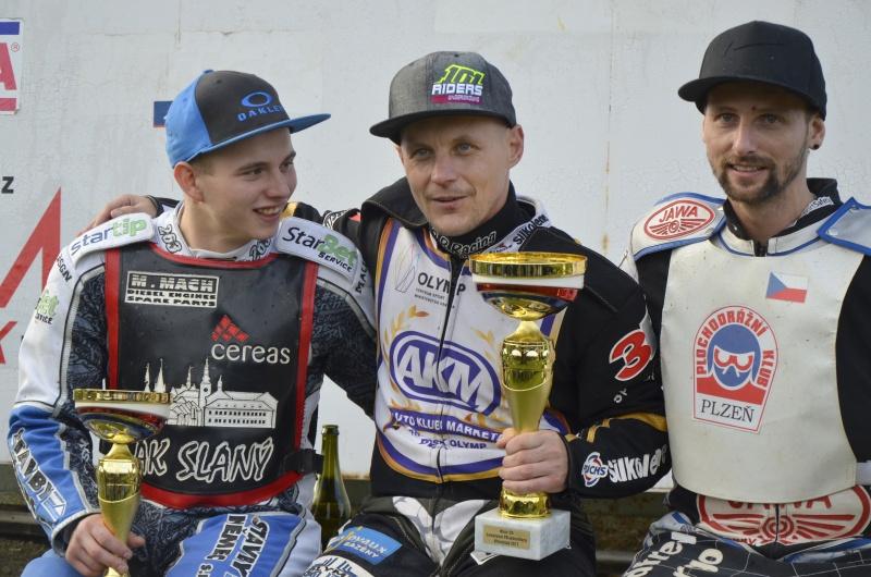 Nejlepší trio mistrovství republiky: Eduard Krčmář, Josef Franc a Zdeněk Simota