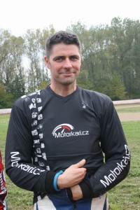 Lukáš Volejník debutoval ve flat tracku