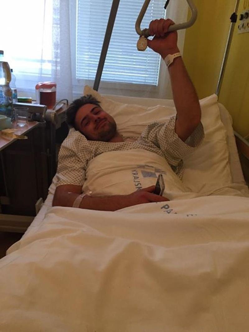 Martin Mejtský je zatím pacientem pardubické nemocnice