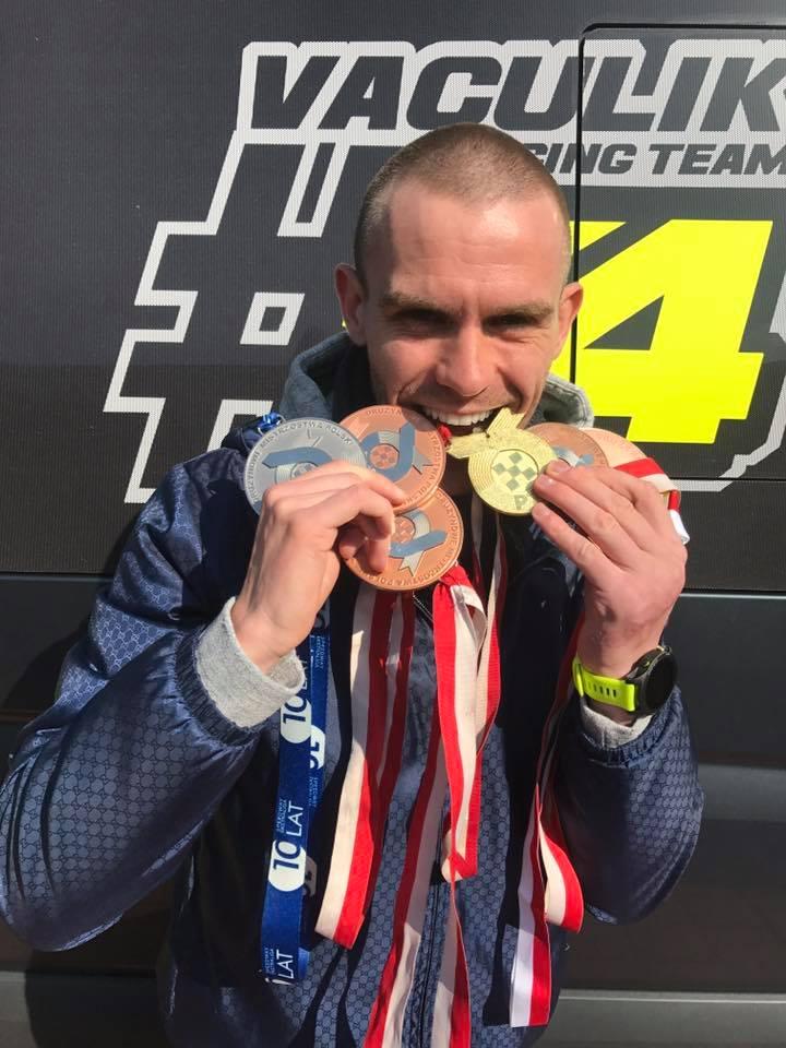 Za posledních šest let v polské extralize získal Martin Vaculík šest medailí