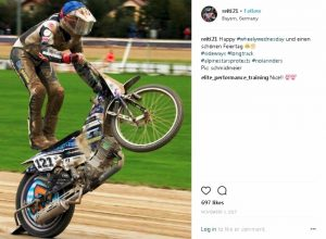 Tento vstup na sociální sít Instagramse se dostal do programu závodů v Assenu