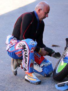 Jaroslav Petrák absolvuje svůj první závod série Drift-On-Ice